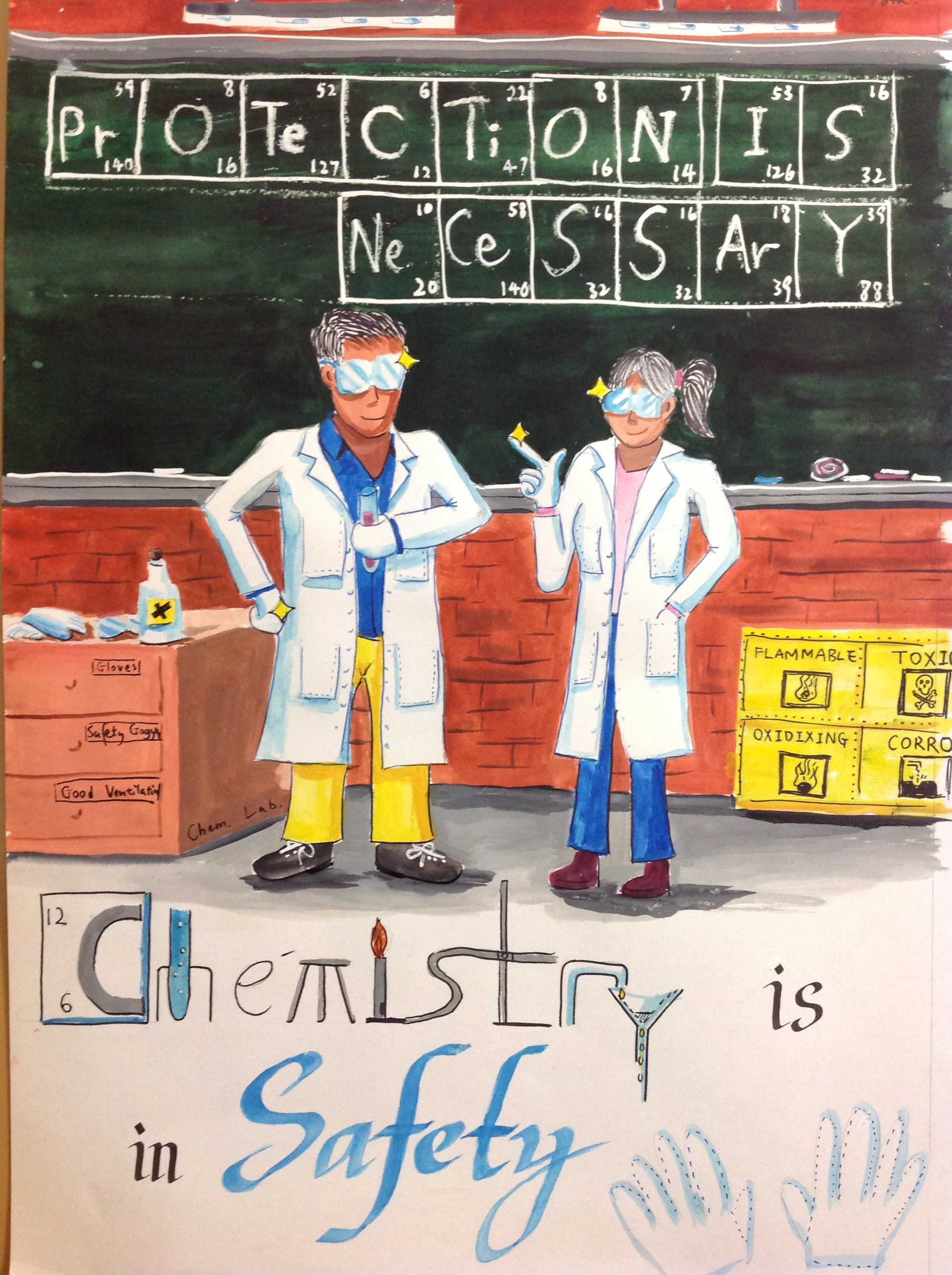 Chemical Safety Poster Design Competition